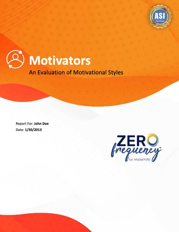Sample Motivators Report