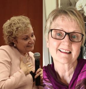 Sandra Davis y Mabel Katz